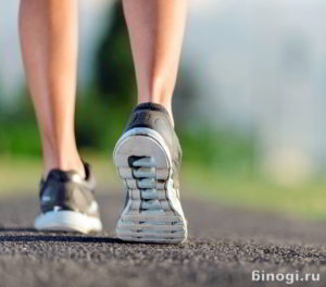 Голеностопные суставы ног спортсмена