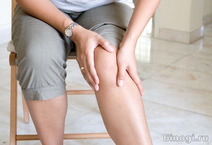 Онемение и болезнь ног от колен у женщин