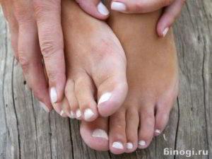 Здоровые ногти на ногах и руках