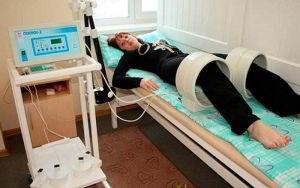 Процедура магнитотерапии при артрозе коленей