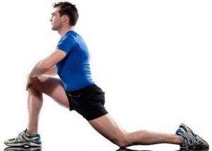 Упражнение для растяжки мышц бедра
