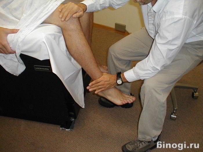 Артрит нижних конечностей - симптомы и лечение (фото и видео)