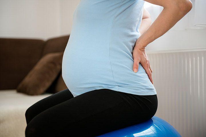 Беременная боли в спине