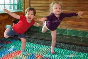 Коврик для массажа детских стоп