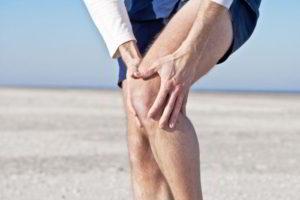 Болит кость ниже колена