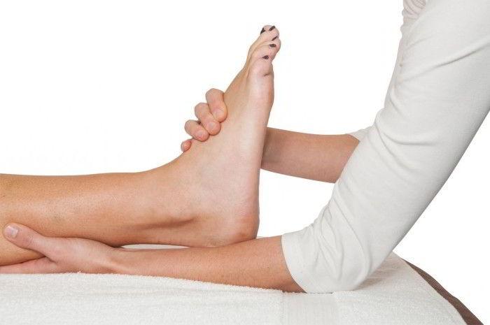 Подвернула ногу: что делать в домашних условиях, как лечить если болит