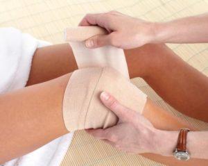 Смещение мениска коленного сустава