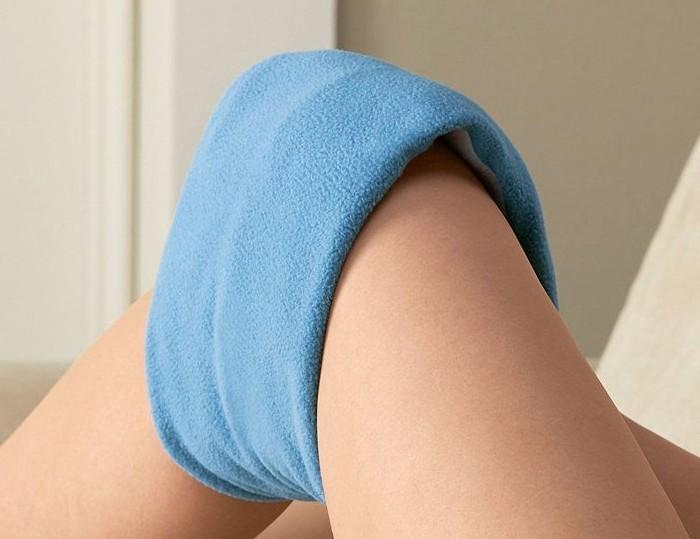 Компресс на коленный сустав